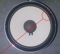 Foamring for JBL 128H woofer