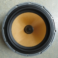 Rubber rand voor B&W DM602 S2 woofer (7 inch)
