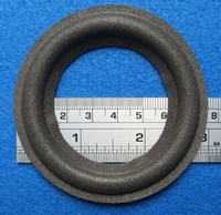 Foam ring, 3 inch, for a unit with a cone size of 5,5 cm