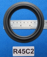 Rubber ring, 4,5 inch, for a unit with a cone size of 8,5 cm