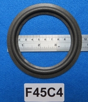 Foam ring, 4,5 inch, for a unit with a cone size of 8,9 cm