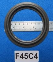 Foamrand van 4,5  inch, voor een conusmaat van 8,9 cm (F45C4