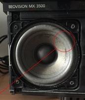 Foamrand voor Bang en Olufsen Beovision MX3500 type MST3160