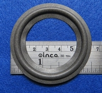 Foamrand van 2,5 inch, voor een conusmaat van 4,75 cm (F251)