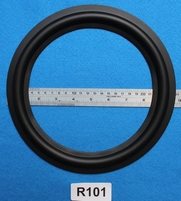 Rubber rand, 10 inch, voor een conusmaat van 19,4 cm (R101)
