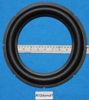 Rubber rand, 12 inch, voor een conusmaat van 21 cm