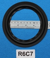 Rubber ring, measures 6 inch, for a 11 cm cone