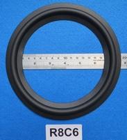 Rubber rand van 8 inch, voor een conusmaat van 15,6 cm (R8C6