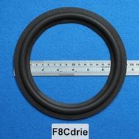 Foamrand van 8 inch, voor een conusmaat van 14,9 cm (F8C9)