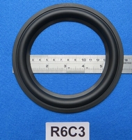 Rubber ring, measures 6 inch, for a 11,45 cm cone