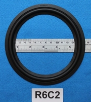 Rubber ring, measures 6 inch, for a 12,65 cm cone