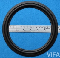 Rubber rand voor VIFA P21WO-20 woofer (8 inch)