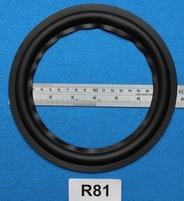 Rubber rand van 8 inch, voor een conusmaat van 14,9 cm (R81)