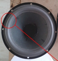 Foamrand voor Acoustic Research AR28SES woofer (8 inch)