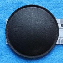 Stofkap van linnen (niet luchtdoorlatend), doorsnede 55 mm