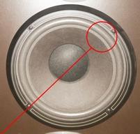 Foamrand (10 inch) voor Infinity ES-103 woofer