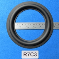 Rubber ring, measures 7 inch, for a 12,2 cm cone