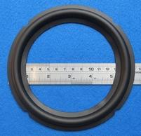 Rubber surround (6 inch) for B&W CDM7 COBEX woofer