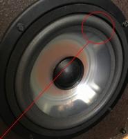 Foamrand (8 inch) voor Infinity 902-5030 woofer