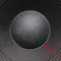 Dust cap for JBL XTI100 woofer