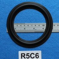 Rubber ring, 5 inch, for a unit with a cone size of 9,8 Cm