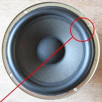 Rubber ring for Jamo Compact 70 woofer