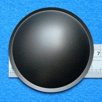 Plastic dust-cap, 65 mm, color: grey
