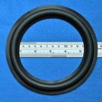 Foamrand van 6  inch, voor een conusmaat van 11,5 cm (F6Ob)