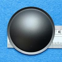 Plastick stofkap van 54 mm, kleur: grijs