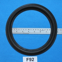 Foam ring, 9 inch, for a unit with a cone size of 18,3 cm