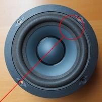 Foam ring for JBL LX-2000C woofer