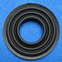 Rubber ring, 2 inch, for a unit with a cone size of 2,3 cm