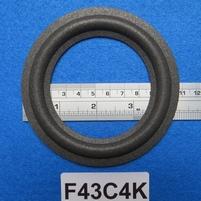 Foamrand van 4,25  inch, voor een conusmaat van 7,7 cm