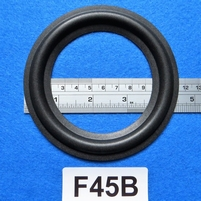 Foamrand van 4,5  inch, voor een conusmaat van 8,5 cm (F45B)
