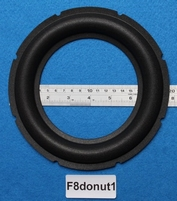 Foam ring, 8 inch, for a unit with a cone size of 13,4 cm