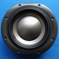 Rubber rand voor B&W DM604 S3 woofer (7 inch)