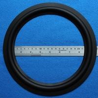 Rubber rand, 10 inch, voor een conusmaat van 19,45 cm