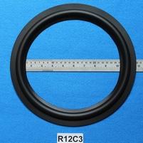 Rubber rand, 12 inch, voor een conusmaat van 23,4 cm (R12C3)
