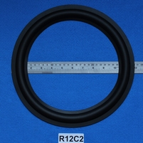 Rubber rand, 12 inch, voor een conusmaat van 23,8 cm (R12C2)