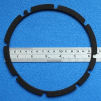 Gasket for 6 inch woofer, 1 piec makes one gasket