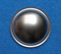 Silberfarbene Staubschutzkappe, Kunststoff - viele Massen