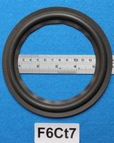 Foamrand van 6  inch, voor een conusmaat van 11,7 cm (F6Ct7)