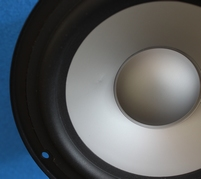 Infinity Primus 250 woofer, small dent in cone