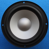 Infinity Primus 250 woofer, nearly invisible dent in cone