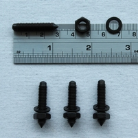 Set of metal spikes (4 pieces) from Dali - for monitors