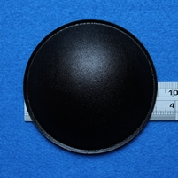 Stofkap van papier, doorsnede 90 mm, zwart glimmend