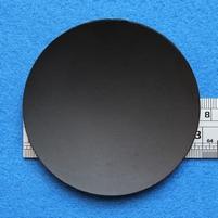 Plastic dust-cap, 74 mm, mounted inverted