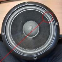 Foamrand (6 inch) voor Infinity SM62 woofer
