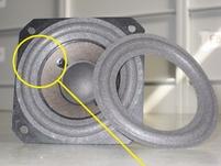 Foamrand voor Bang en Olufsen Beovox C40 woofer (4 inch)