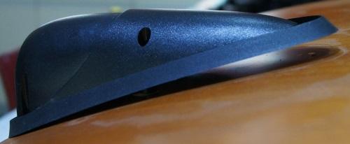B&W HTM7 Hochtöner Ersatz: Hochtöner ist wieder auf dem Lautsprechergehäuse platziert
